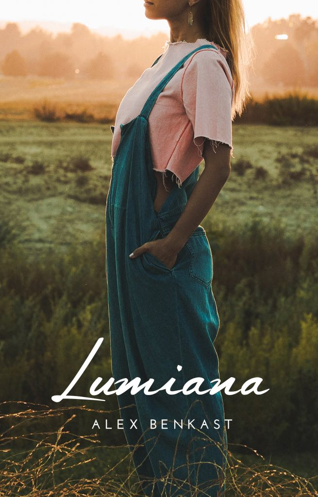 Book Cover of Lumina by Alex Benkast