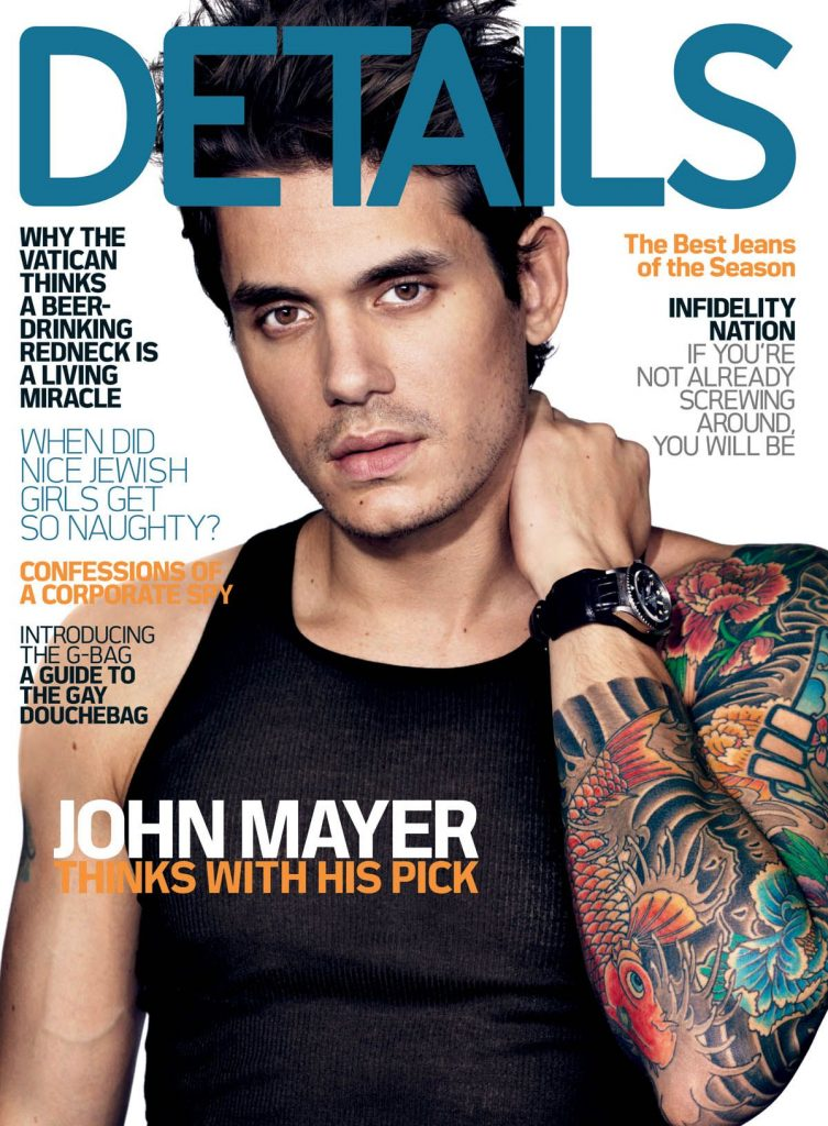Credit: John Mayer | Details Magazine