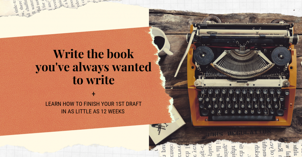 Write the book you've always wanted to write Facebook group