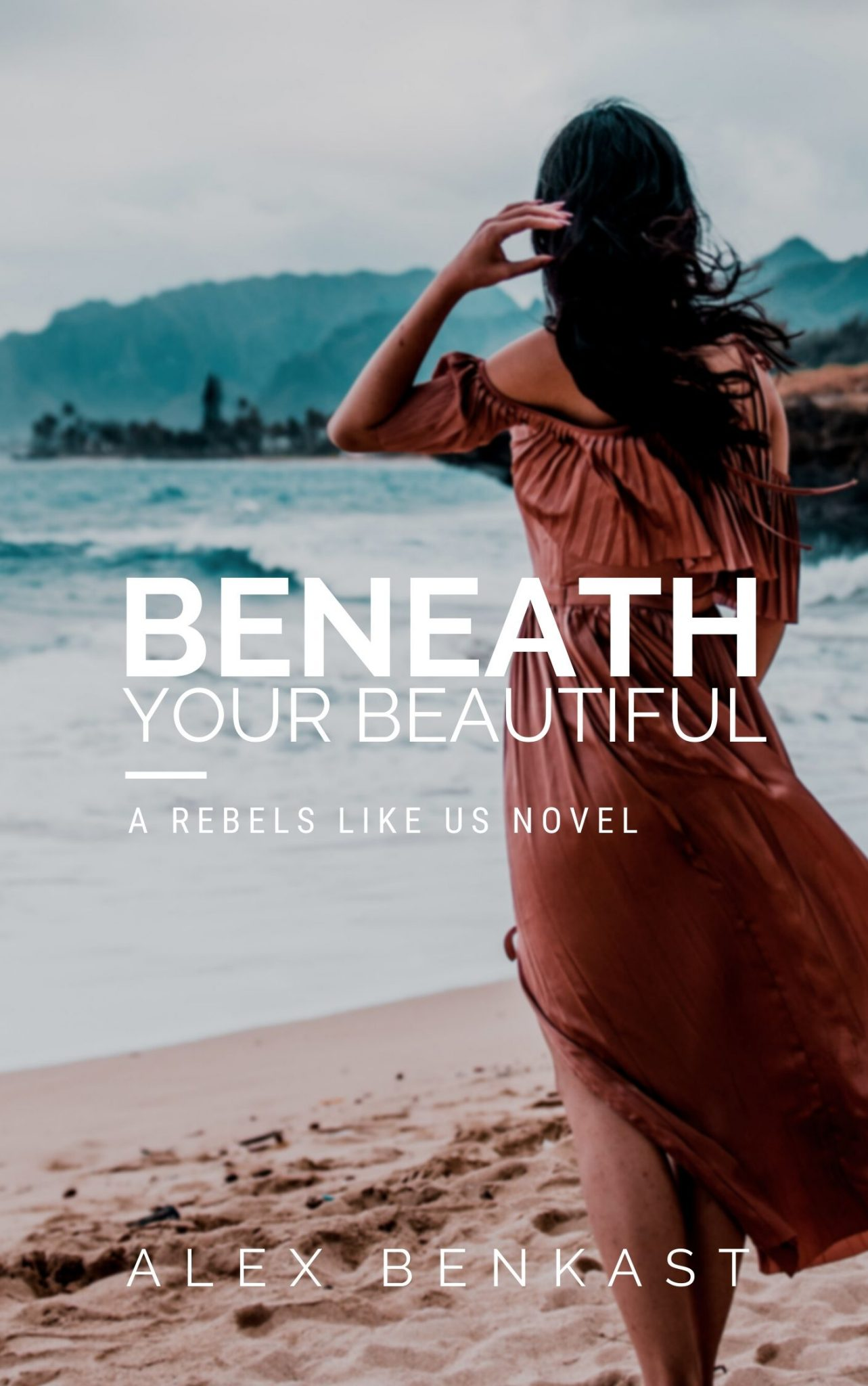 Old promo cover for Beneath Your Beautiful