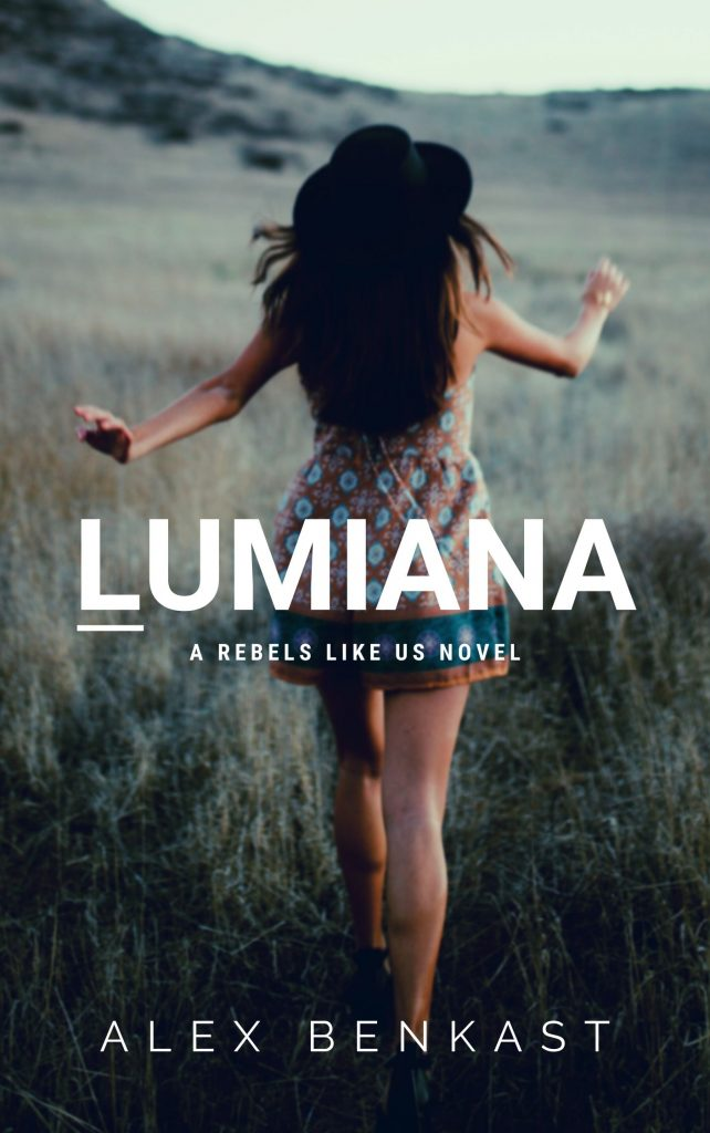Book Cover of Lumiana by Alex Benkast