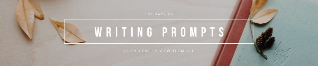 writing prompts banner click to view prompts