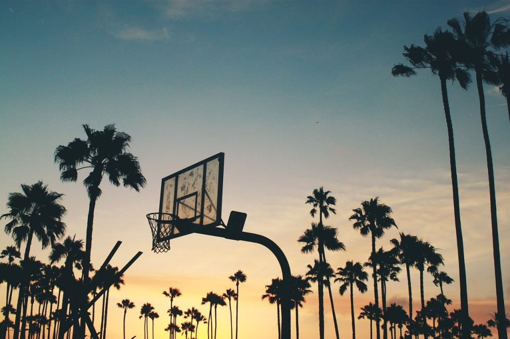 backboard, backlit, basketball board